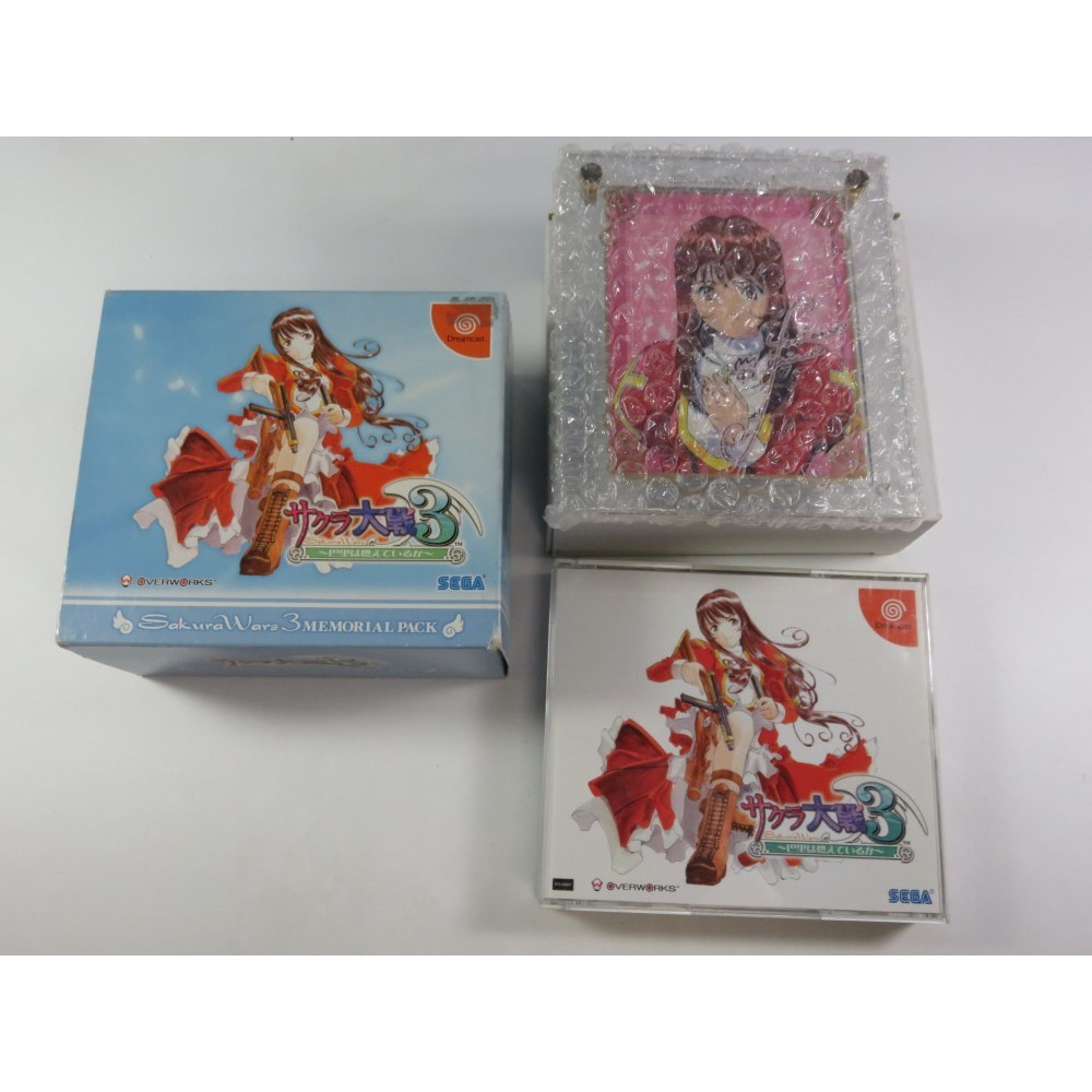 SAKURA TAISEN 3 MEMORIAL PACK DREAMCAST NTSC-JPN (COMPLET-GOOD CONDITION) SAKURA WARS