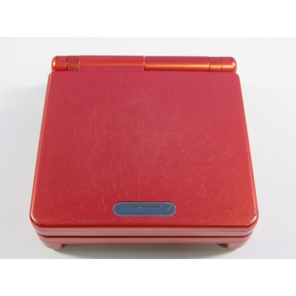 CONSOLE GAMEBOY ADVANCE SP ROUGE (SANS BOITE NI NOTICE - WITHOUT BOX AND MANUAL) - (GOOD CONDITION)
