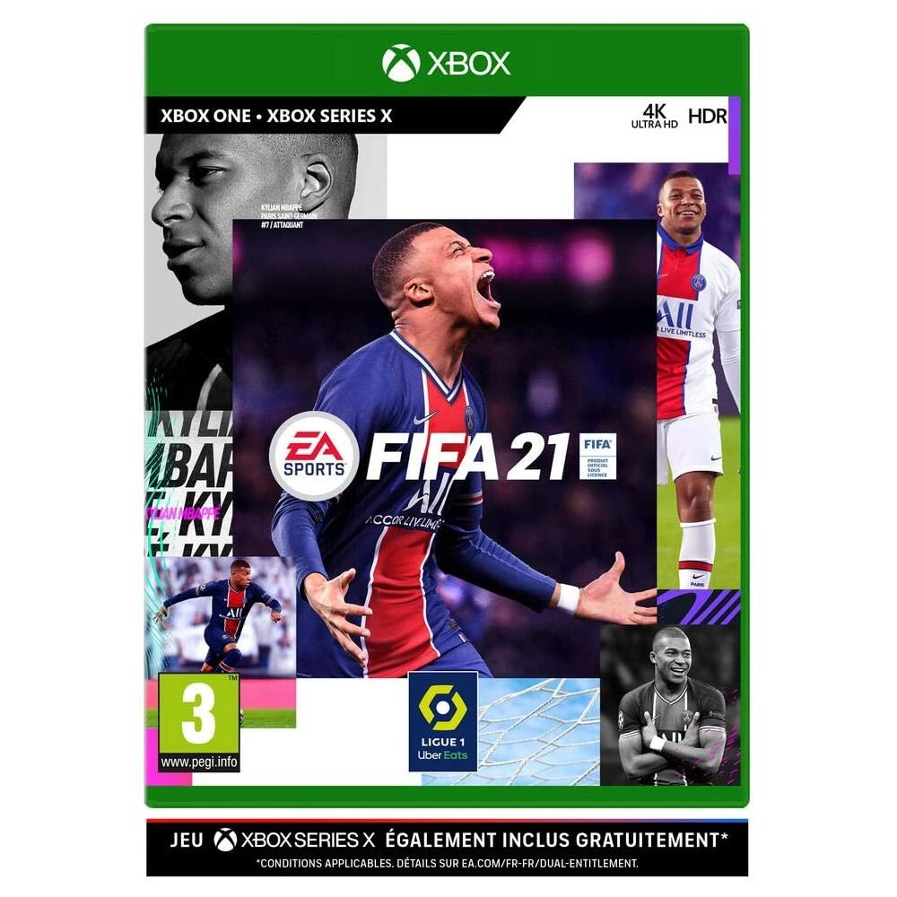 FIFA 21 XBOX ONE FR OCCASION