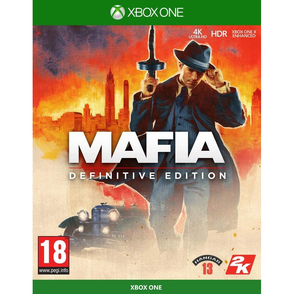 MAFIA DEFINITIVE EDITION XBOX ONE FR OCCASION
