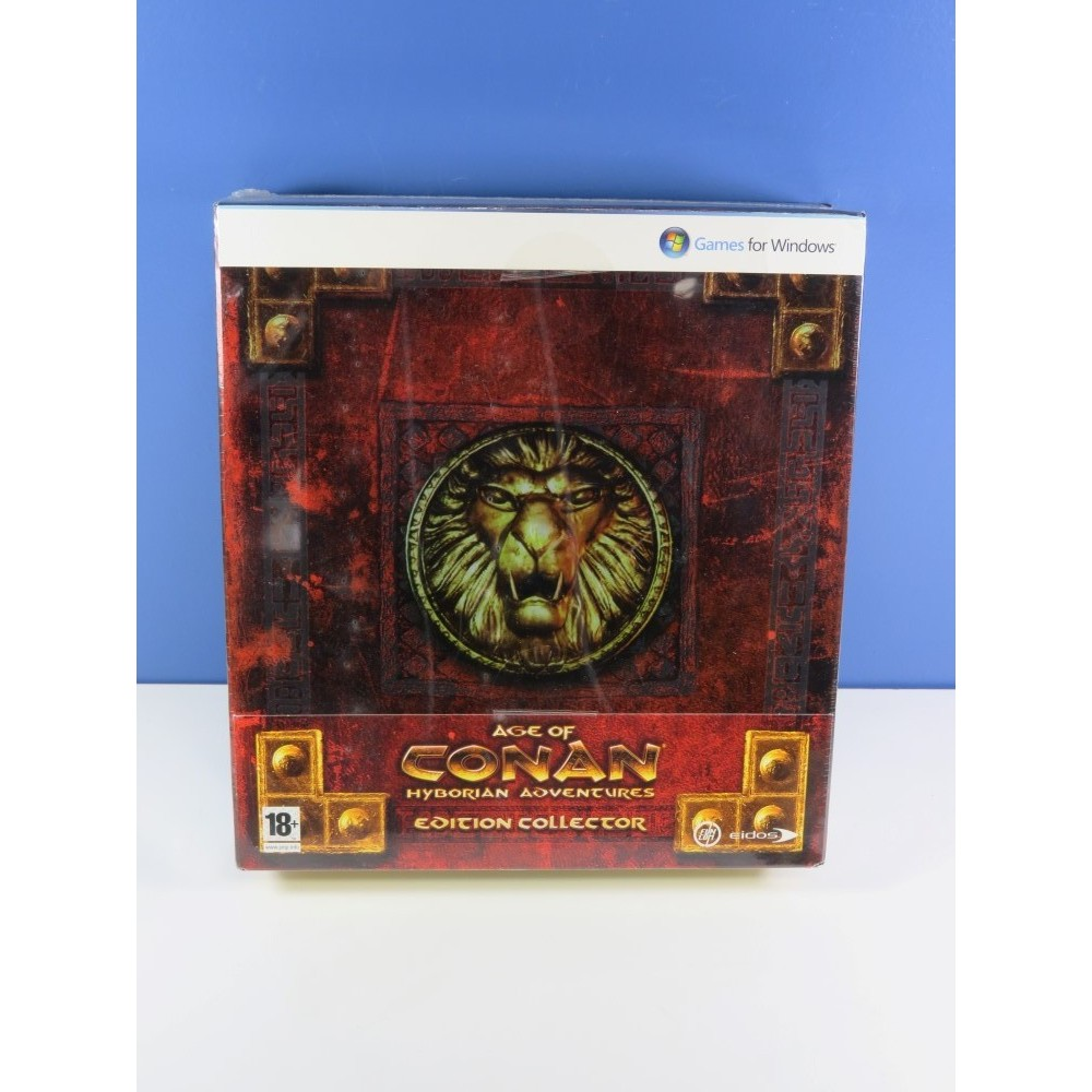 AGE OF CONAN EDITION COLLECTOR PC FR NEUF - BRAND NEW