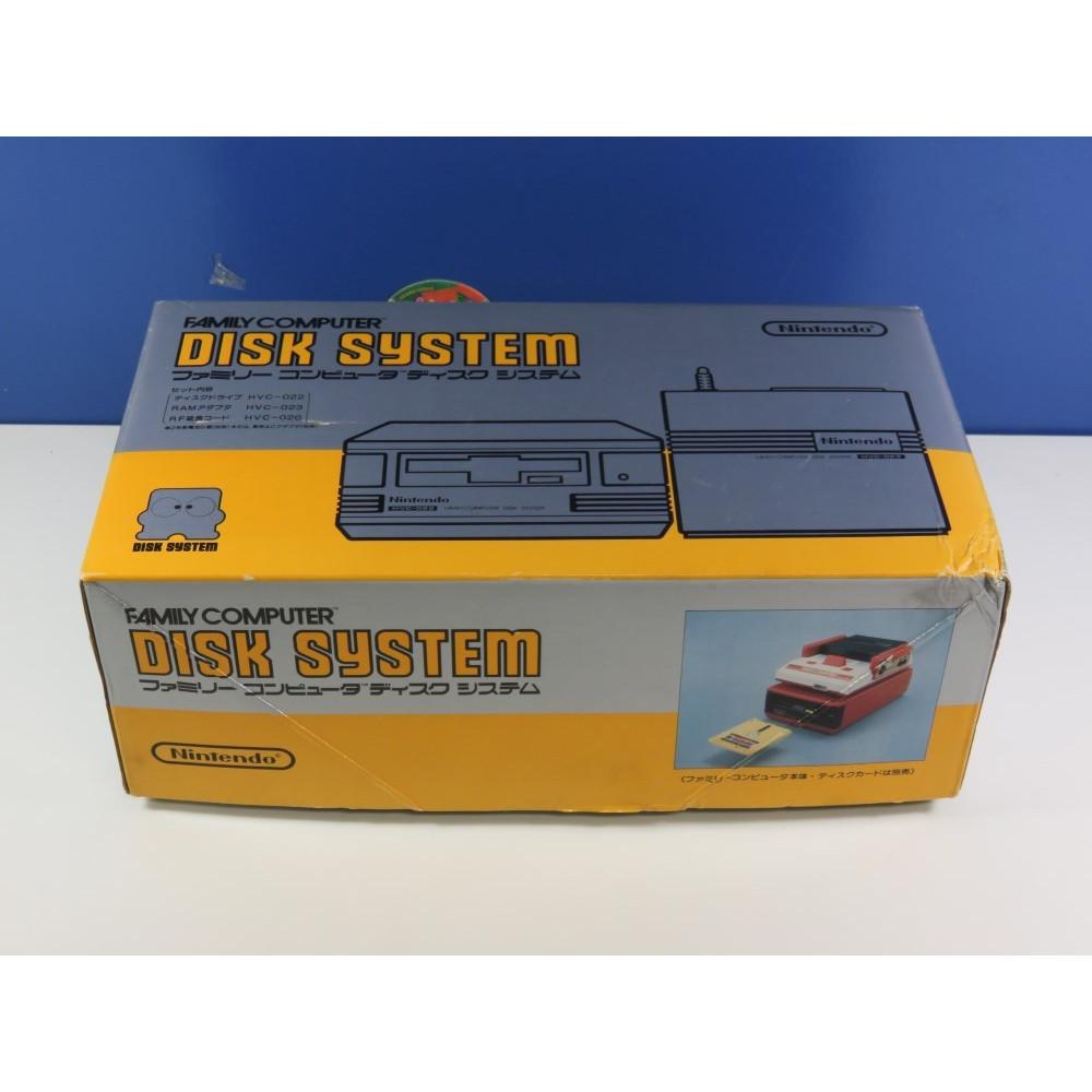 NINTENDO FAMICOM DISK SYSTEM HVC-022 NTSC-JPN NEUF - BRAND NEW