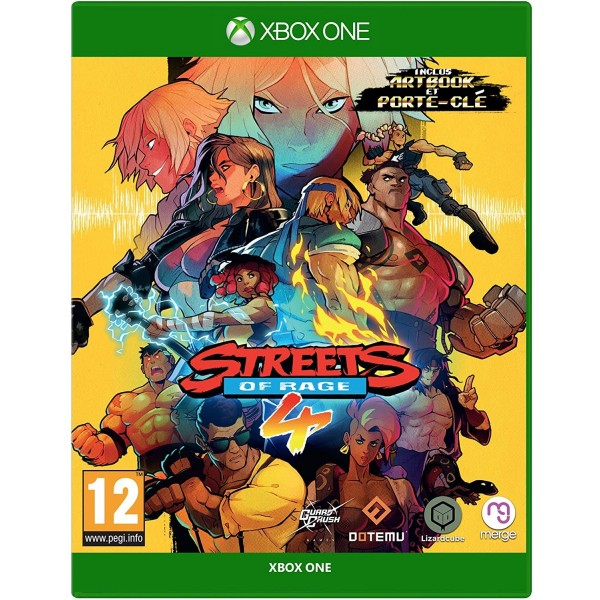 STREETS OF RAGE 4 XBOX ONE FR OCCASION(BARE KNUCKLE IV)