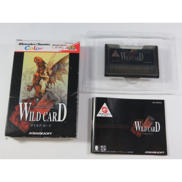 WILD CARD (ROLE PLAYING CARD GAME) WONDERSWAN COLOR JAPAN OCCASION