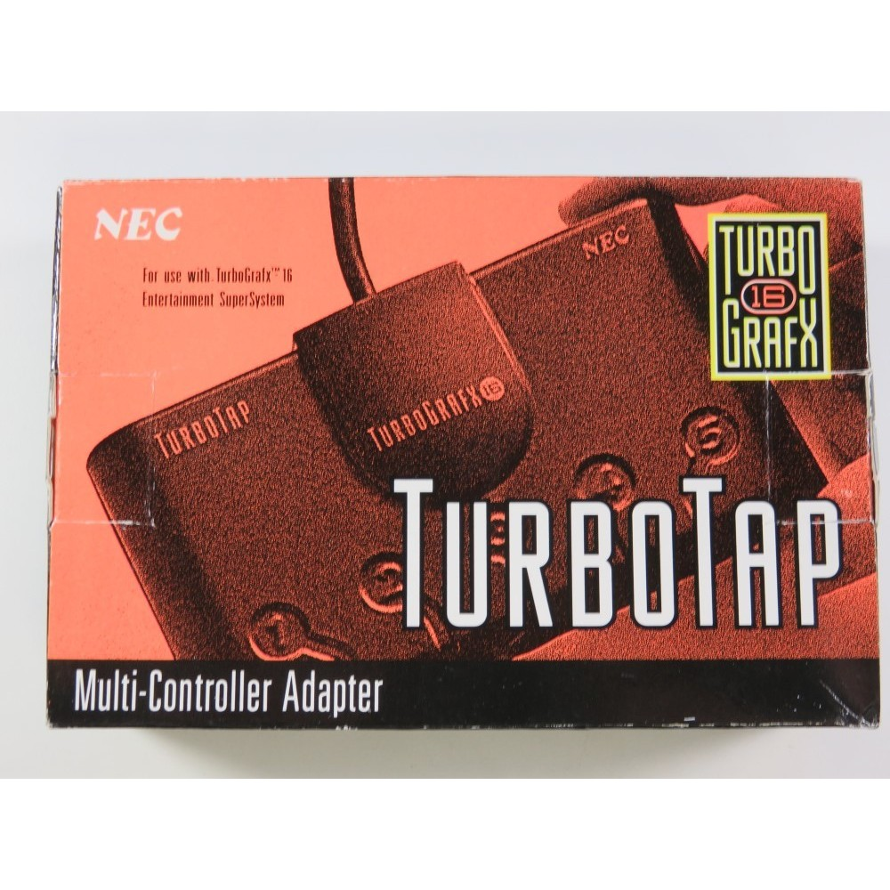 TURBO TAP NEC TURBOGRAFX-16 (EN BOITE - BOXED) - (NEUF - BRAND NEW)