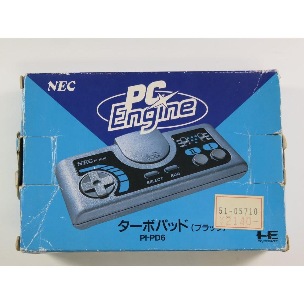 CONTROLLER NEC PC ENGINE TURBO PAD (PI-PD6) (EN BOITE - BOXED) - (GOOD CONDITION)