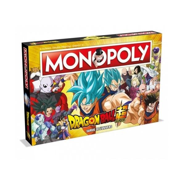 MONOPOLY DRAGON BALL Z EURO NEW