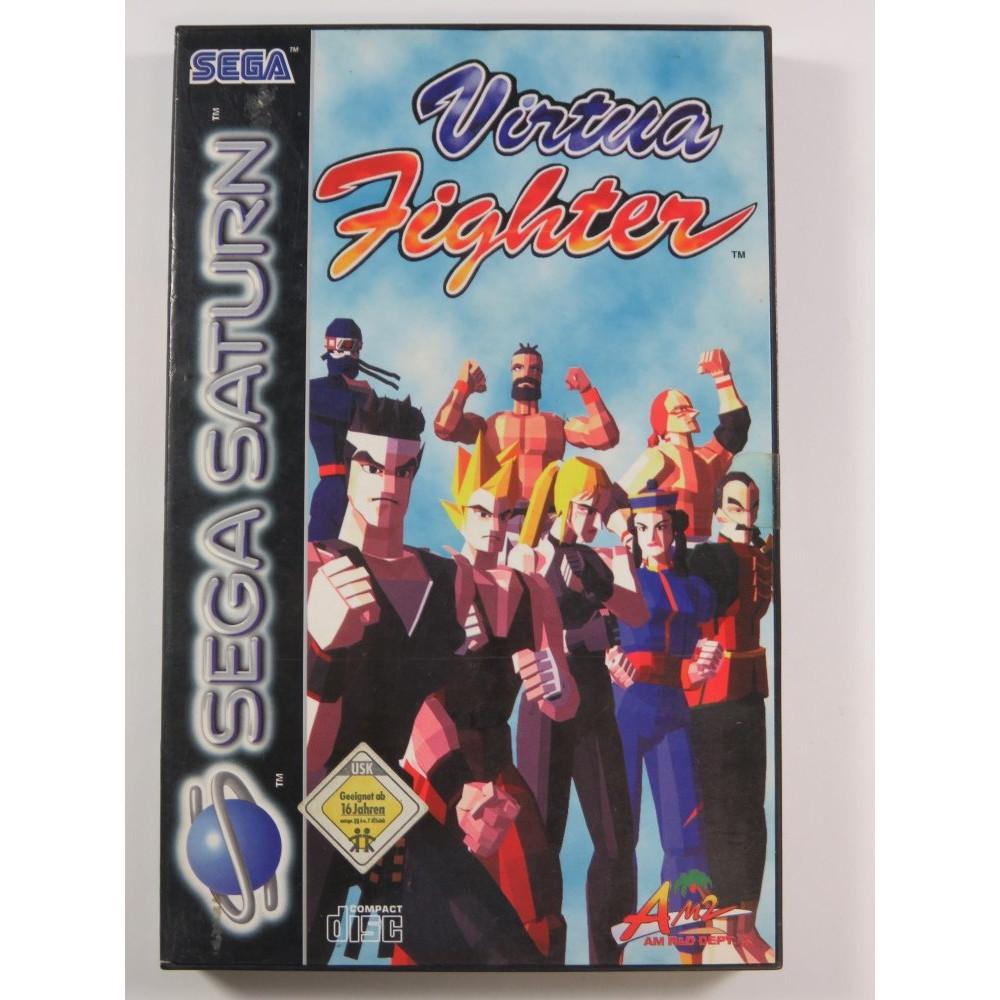 VIRTUA FIGHTER SATURN PAL EURO (COMPLETE - GOOD CONDITION OVERALL) SEGA 1995