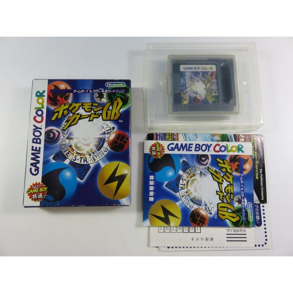 POKEMON CARD GB GAMEBOY COLOR JPN REGION FREE (COMPLET) GBC