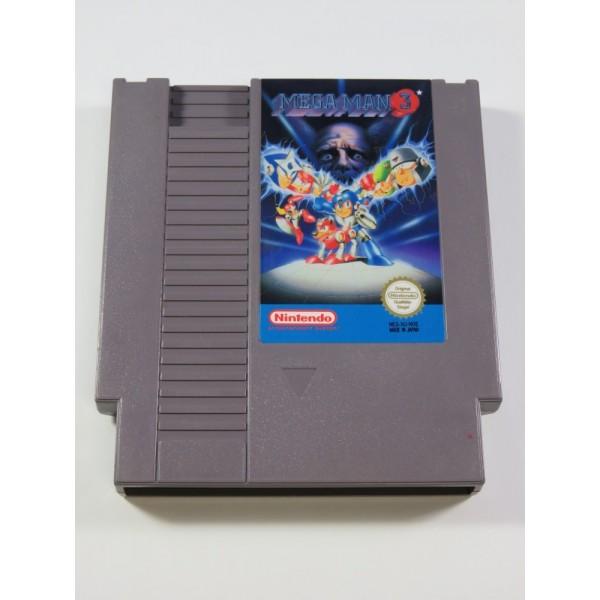 MEGA MAN 3 NINTENDO (NES) PAL-NOE (CARTRIDGE ONLY - GOOD CONDITION)