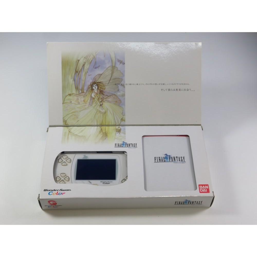 CONSOLE FINAL FANTASY WONDERSWAN LIMITED EDITION JPN (COMPLETE-GOOD CONDITION)(WITH REG. CARD)