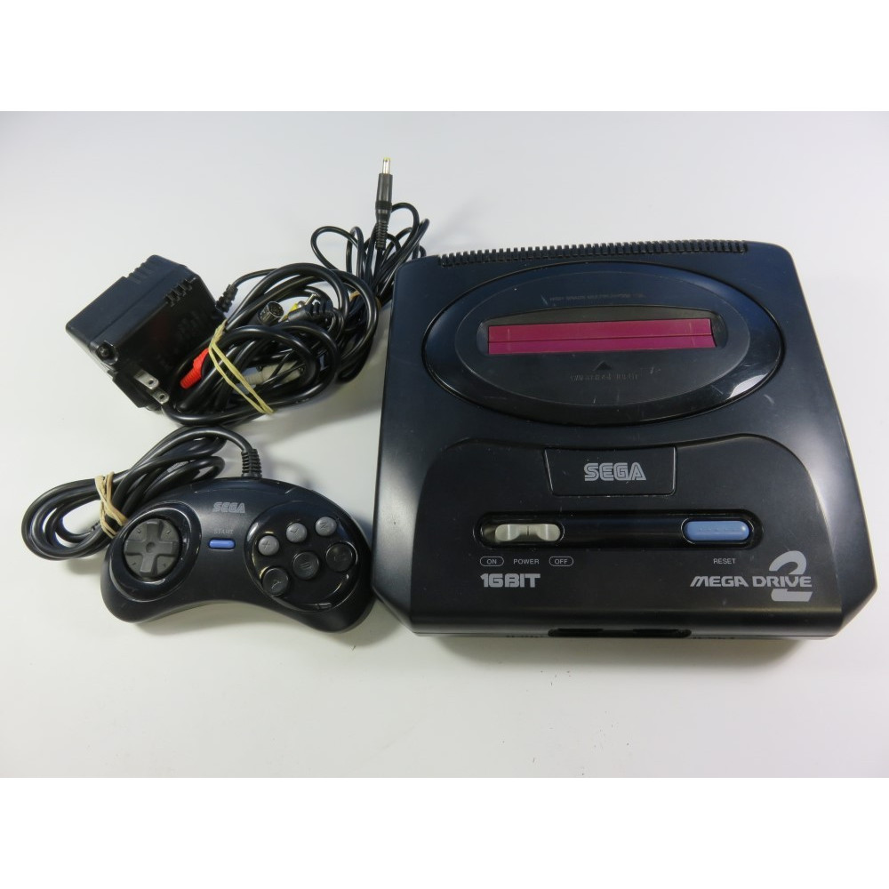 CONSOLE SEGA MEGADRIVE II NTSC-JPN (FULLY WORKING - WITH CABLES AND 6B CONTROLLER)