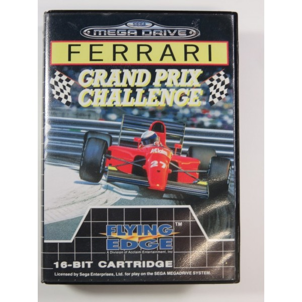 FERRARI GRAND PRIX CHALLENGE MEGADRIVE PAL-EURO (COMPLETE - GOOD CONDITION)