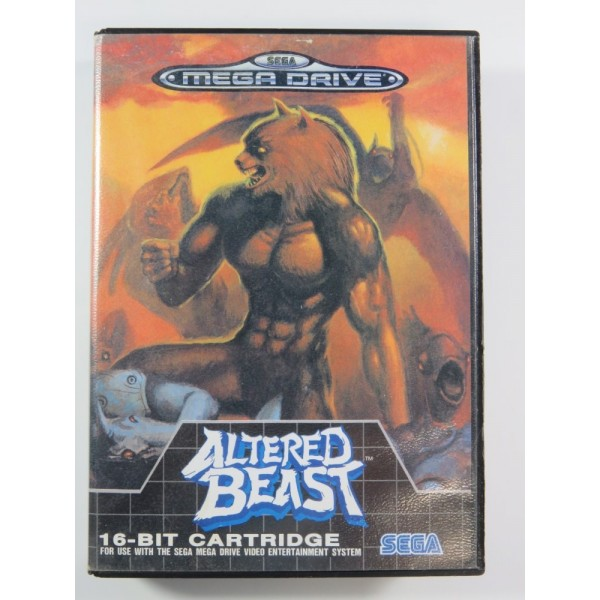 ALTERED BEAST MEGADRIVE PAL-EURO (COMLETE - GOOD CONDITION OVERALL)
