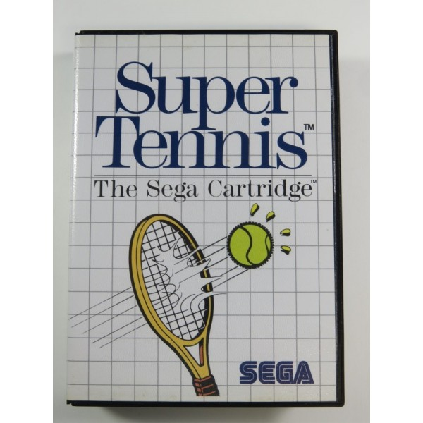 SUPER TENNIS MASTER SYSTEM PAL-EURO (COMPLET - GOOD CONDITION)