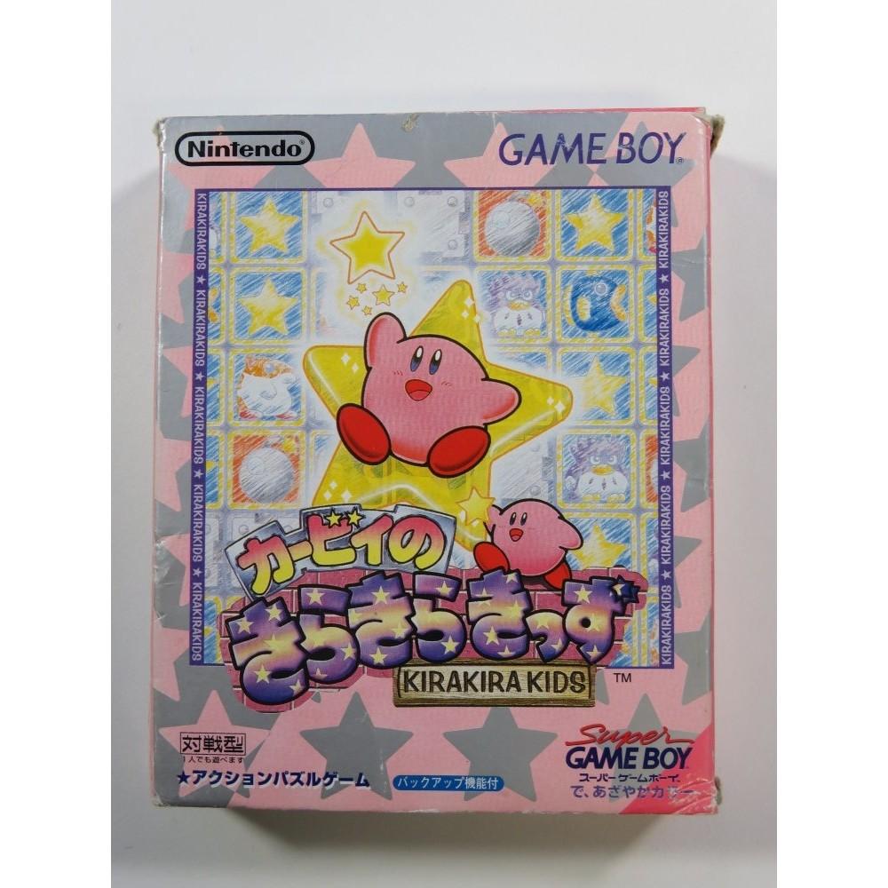 KIRBY NO KIRAKIRA KIDS KIDS GAMEBOY JPN (COMPLETE - BOX DAMAGED)