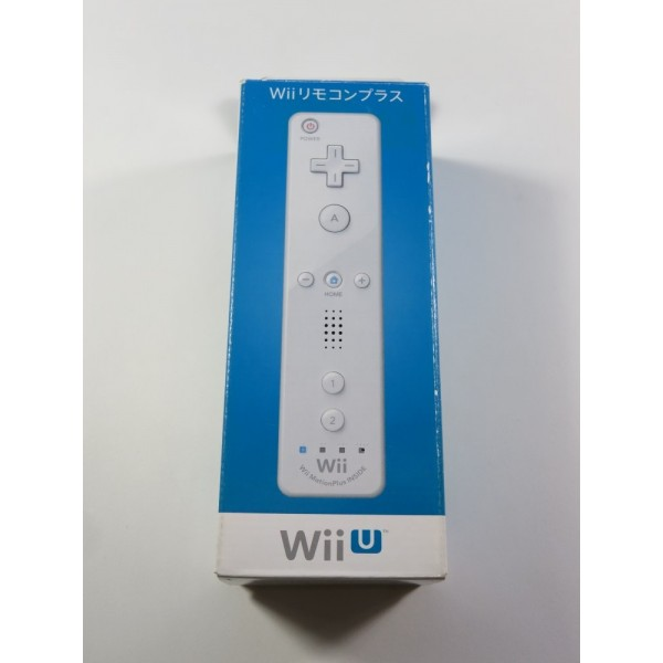 CONTROLLER - MANETTE WIIMOTE + MOTION PLUS WHITE/ SHIRO NINTENDO WII JPN NEUF - BRAND NEW