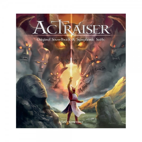CD ACTRAISER ORIGINAL SOUNDTRACK (2 CD) DE YUZO KOSHIRO NEW