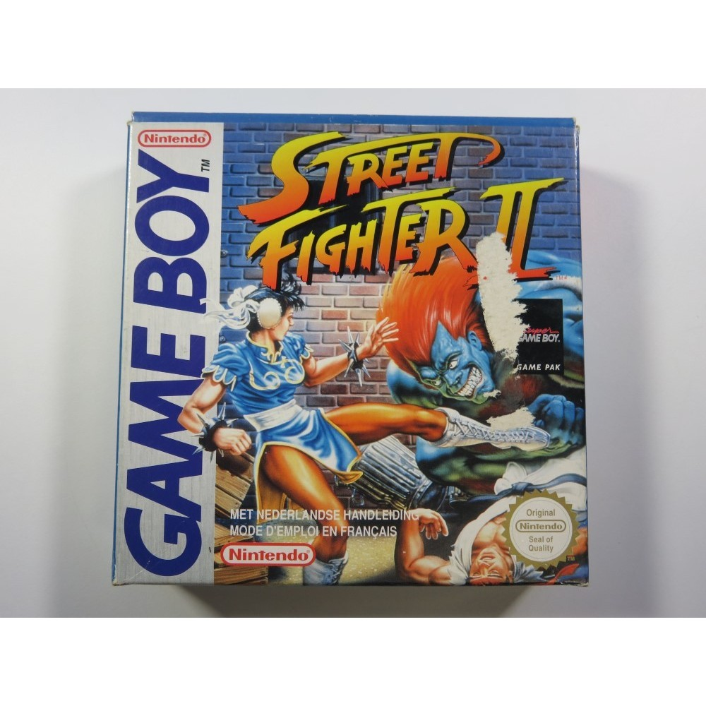 STREET FIGHTER II GAMEBOY (GB) FAH (COMPLETE - GOOD CONDITION OVERALL)