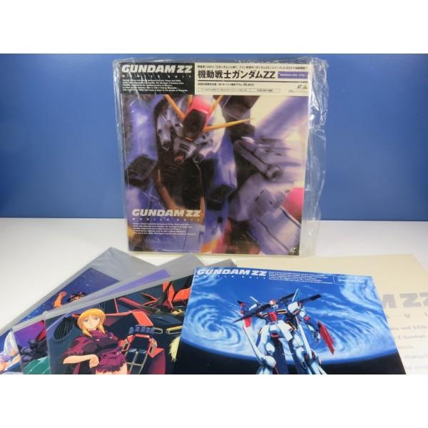 LD MOBILE SUIT GUNDAM ZZ MEMORIAL BOX TYPE-1 (6 LASER DISCS + BOOKLET) NTSC-JPN