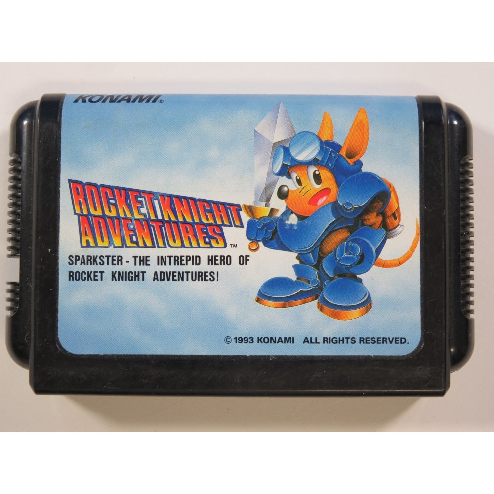 ROCKET KNIGHT ADVENTURES SEGA MEGADRIVE NTSC-JPN (CARTRIDGE ONLY - GOOD CONDITION)