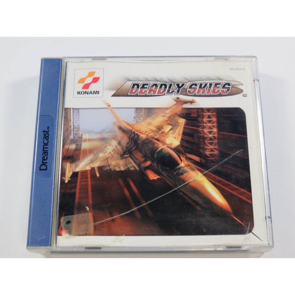DEADLY SKIES SEGA DREAMCAST (DC) PAL-EURO (COMPLETE - GOOD CONDITION OVERALL)