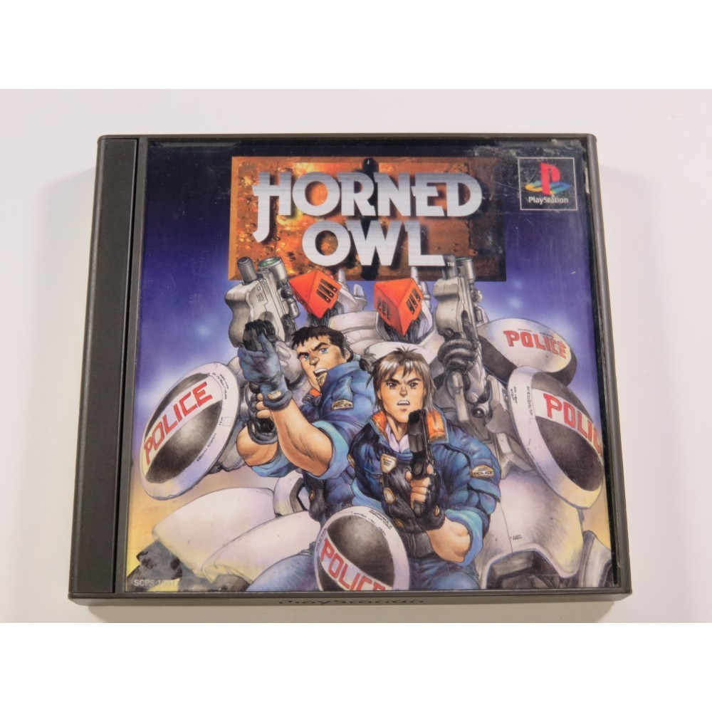HORNED OWL PLAYSTATION (PS1) NTSC-JPN (COMPLETE - GOOD CONDITION)