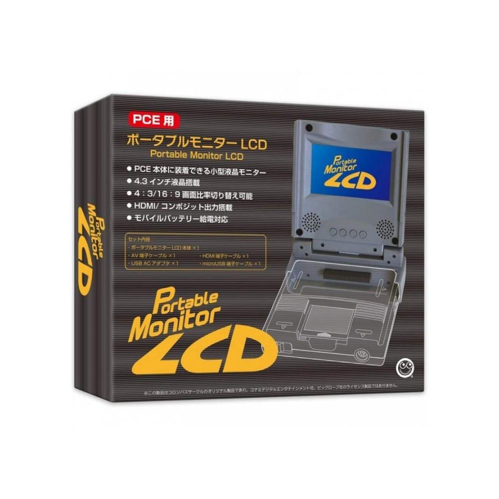PCE PORTABLE MONITOR LCD - MONITEUR PORTABLE NEC PC ENGINE JAPAN (BRAND NEW) COLUMBUS CIRCLE