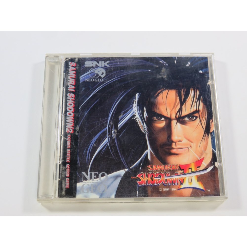 SAMURAI SHODOWN II NEOGEO CD NTSC-USA (COMPLETE - GOOD CONDITION OVERALL)