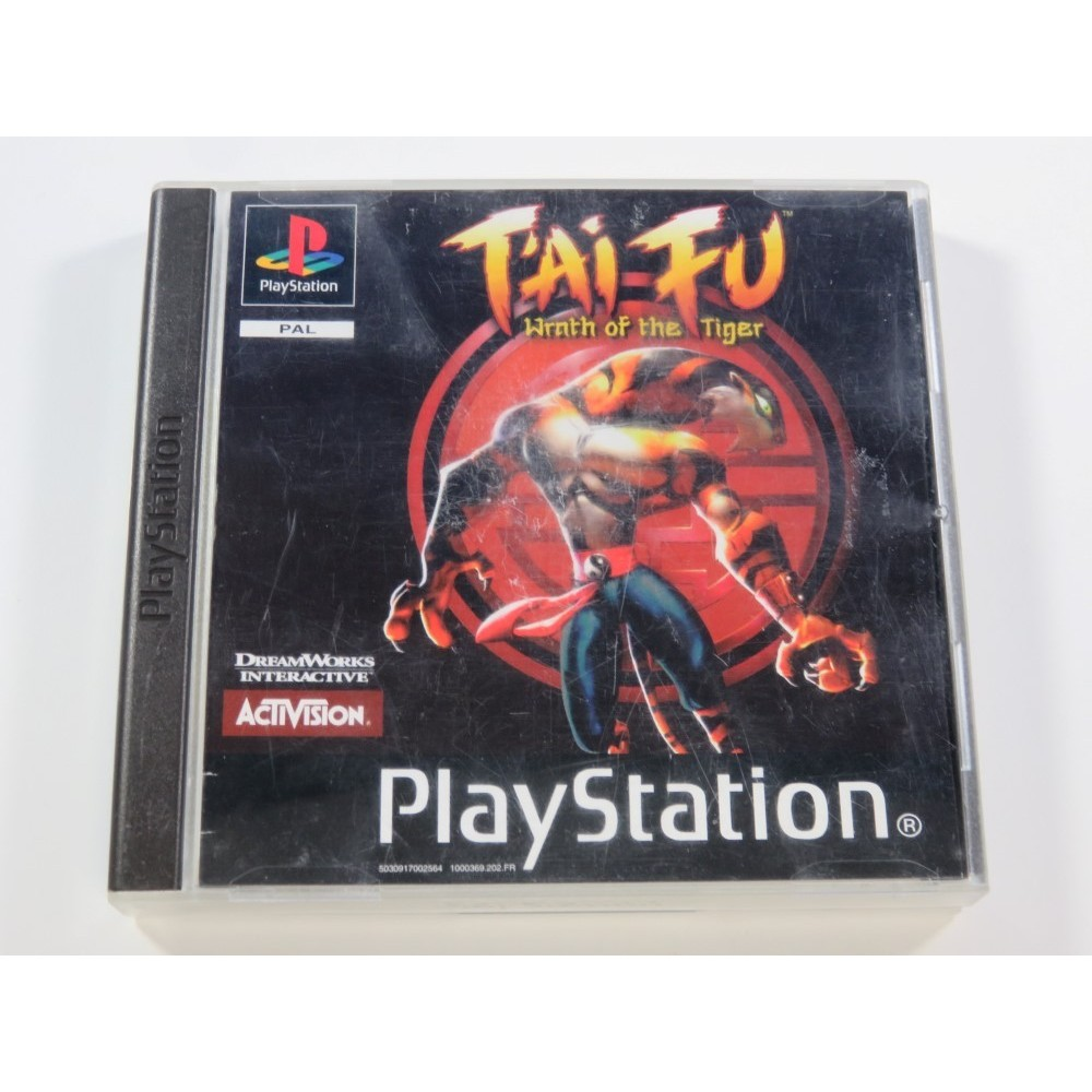 TAI FU: WRATH OF THE TIGER PLAYSTATION 1 (PS1) PAL-FR (COMPLETE - GOOD CONDITION)