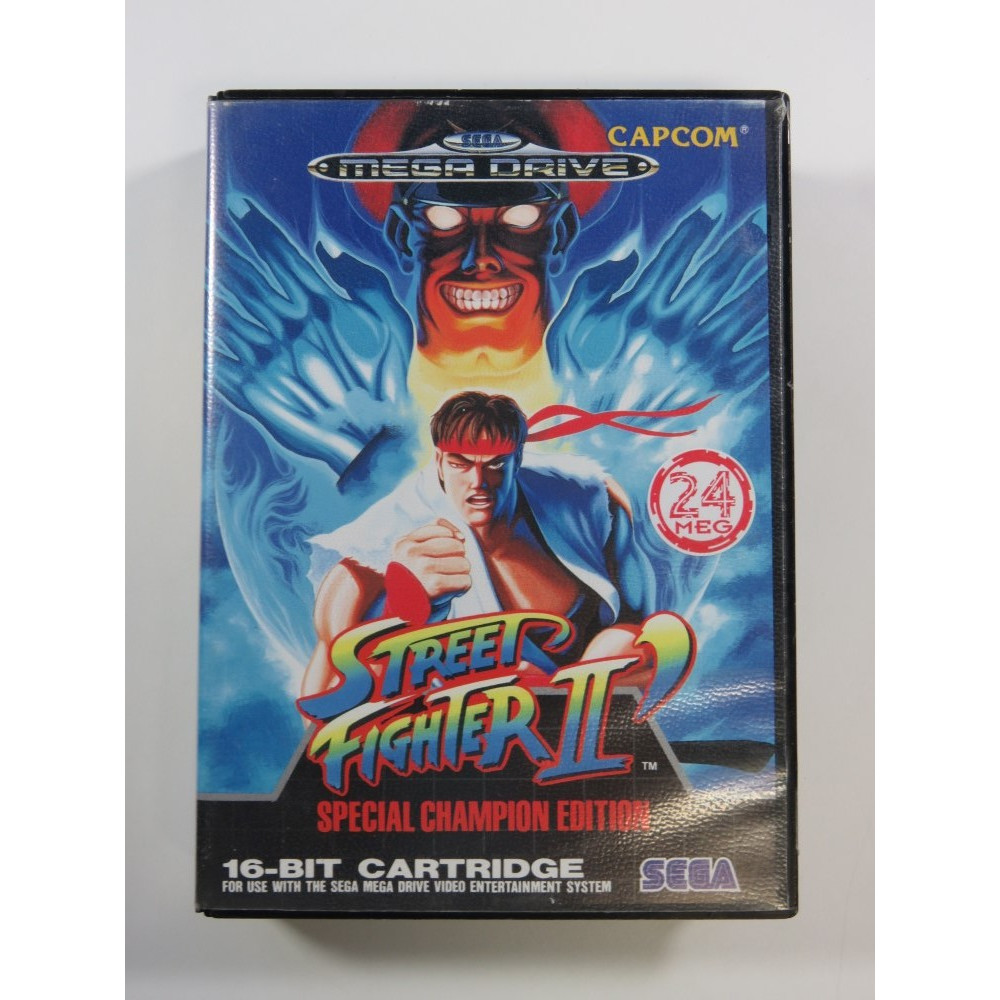STREET FIGHTER II SPECIAL CHAMPIONSHIP EDITION MEGADRIVE PAL-EURO (COMPLETE - BOX AND MANUAL DAMAGED)