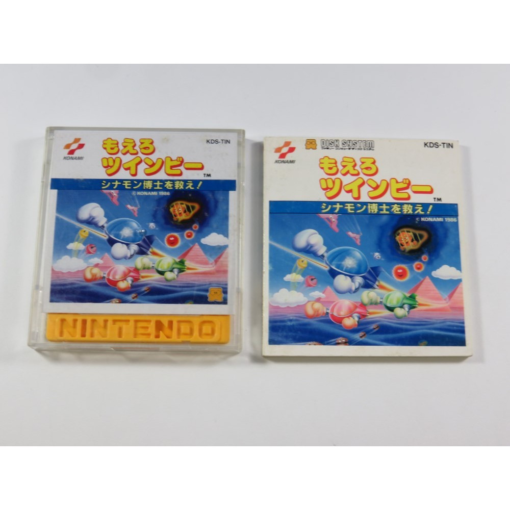 MOERO TWINBEE FAMICOM DISK SYSTEM NTSC-JPN (WITHOUT BIG BOX - GOOD CONDITION)
