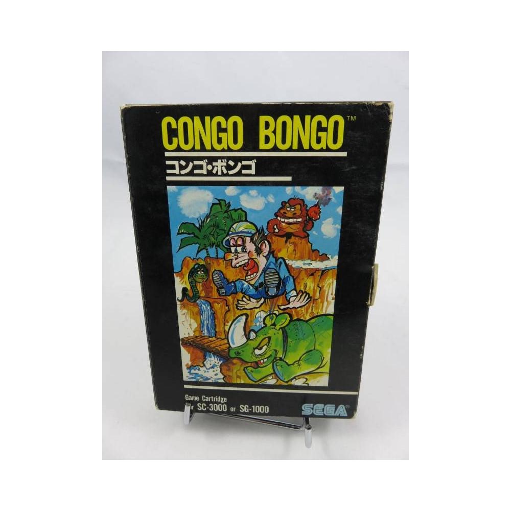CONGO BONGO (G-1007 BIG BOX) SG-1000 SC-3000 NTSC-JPN OCCASION
