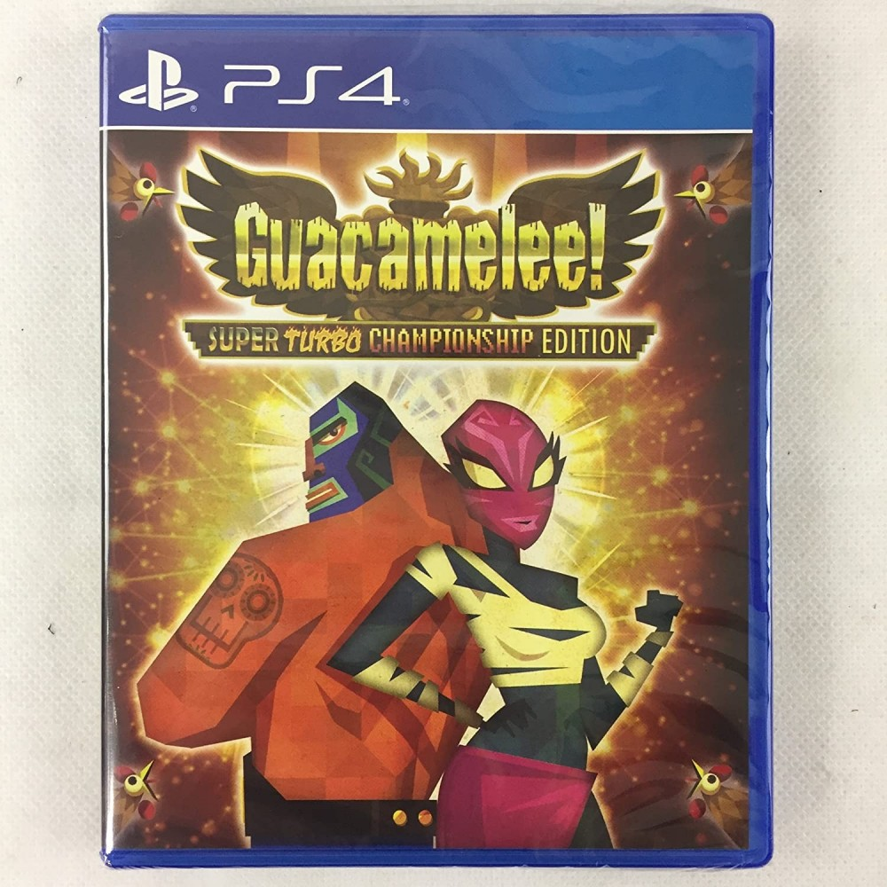 GUACAMELEE PS4 US NEW