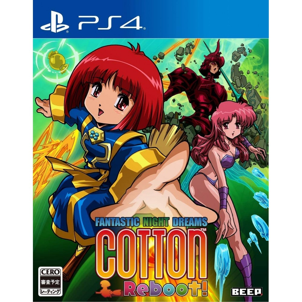 Cotton Reboot! PS4 JPN -