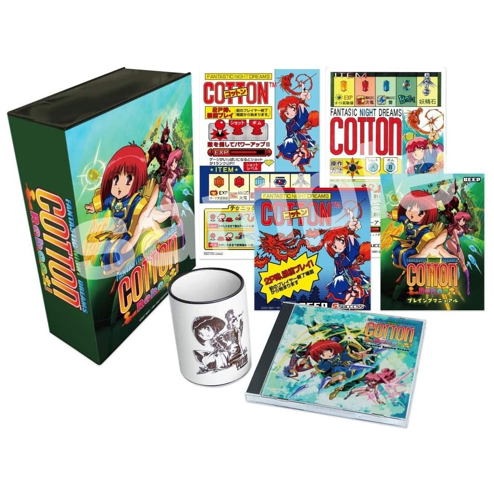 Cotton Reboot! [Limited Edition] PS4 JPN -