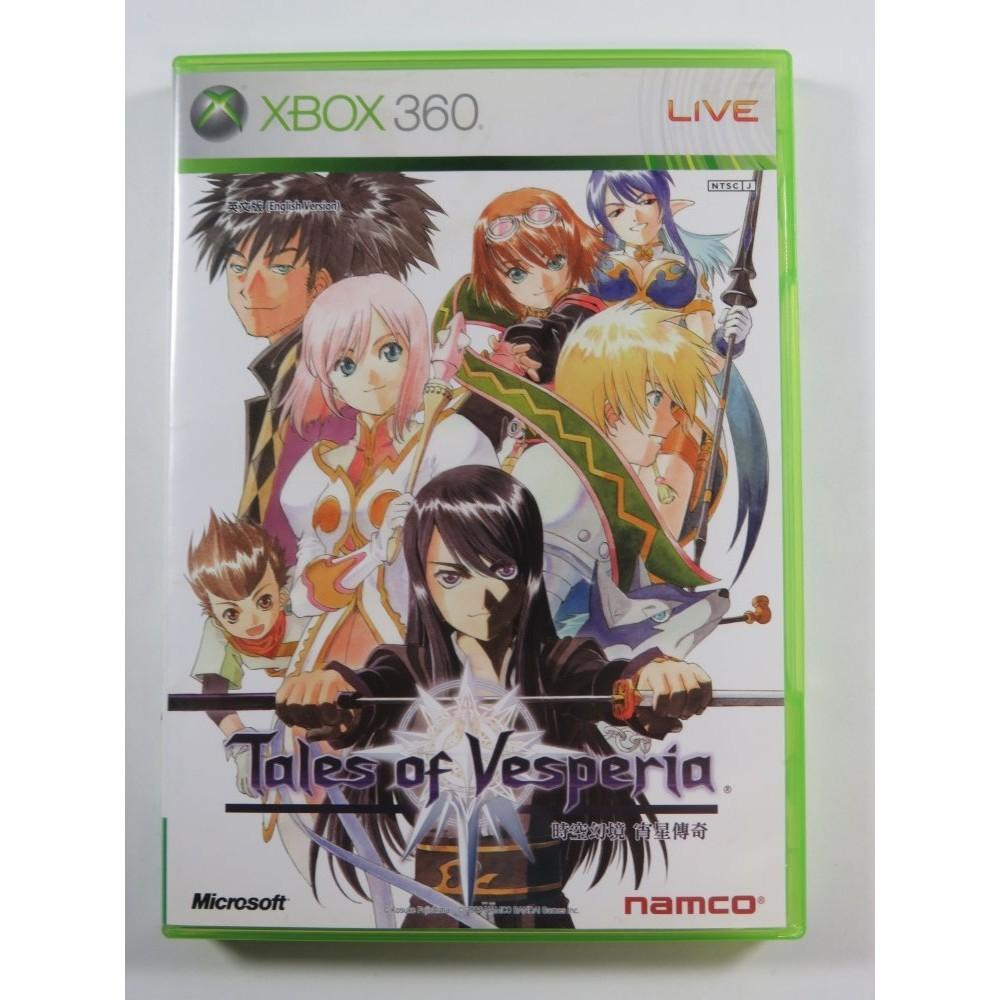 TALES OF VESPERIA XBOX-360 NTSC-JPN (ASIAN VERSION) - (REGION LOCK)