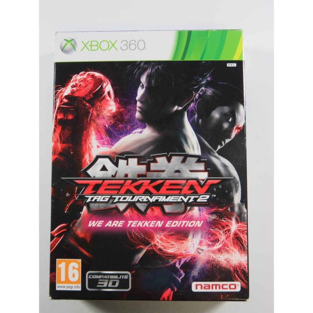 TEKKEN TAG TOURNAMENT 2 COLLECTOR XBOX 360 PAL-FR OCCASION