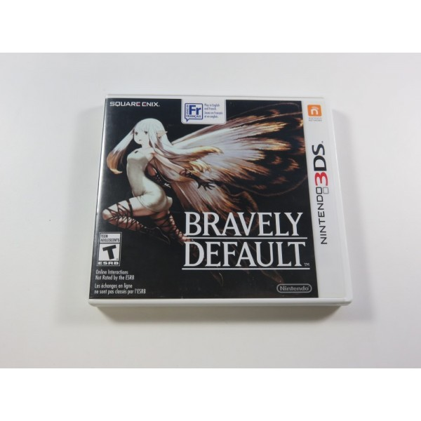 BRAVELY DEFAULT NINTENDO 3DS NTSC-USA OCCASION (REGION LOCK - CANADIAN VERSION)(TEXTS IN ENGLISH AND FRENCH)