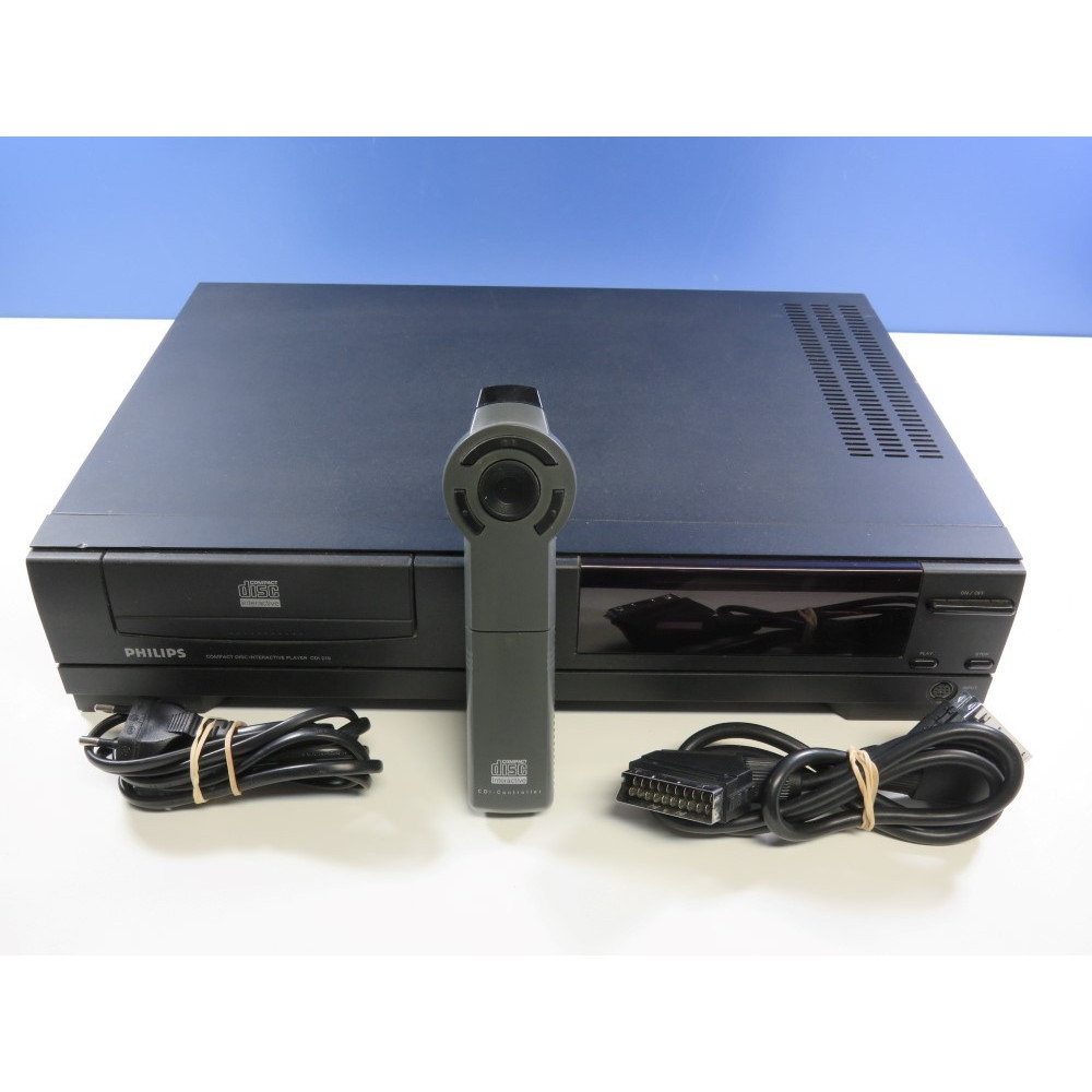 CONSOLE CDI PHILIPS 210 (COMPACT DISK INTERACTIVE) PAL-EURO (SANS BOITE - WITHOUT BOX) - (GREAT CONDITION)