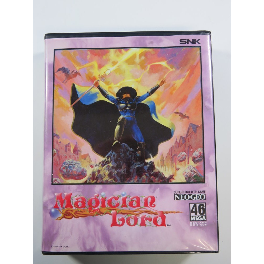 MAGICIAN LORD NEOGEO AES USA - (IMPORT GUILLEMOT (DOUBLE NOTICE)) (COMPLETE - GREAT CONDITION)