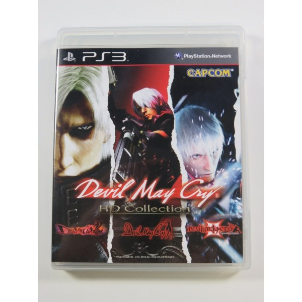 DEVIL MAY CRY HD COLLECTION PLAYSTATION 3 (PS3) ASIAN OCCASION