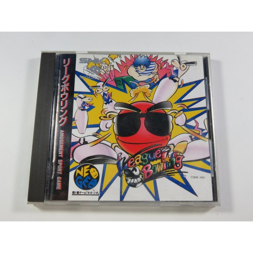 LEAGUE BOWLING NEOGEO-CD NTSC-JPN (COMPLETE - GOOD CONDITION)