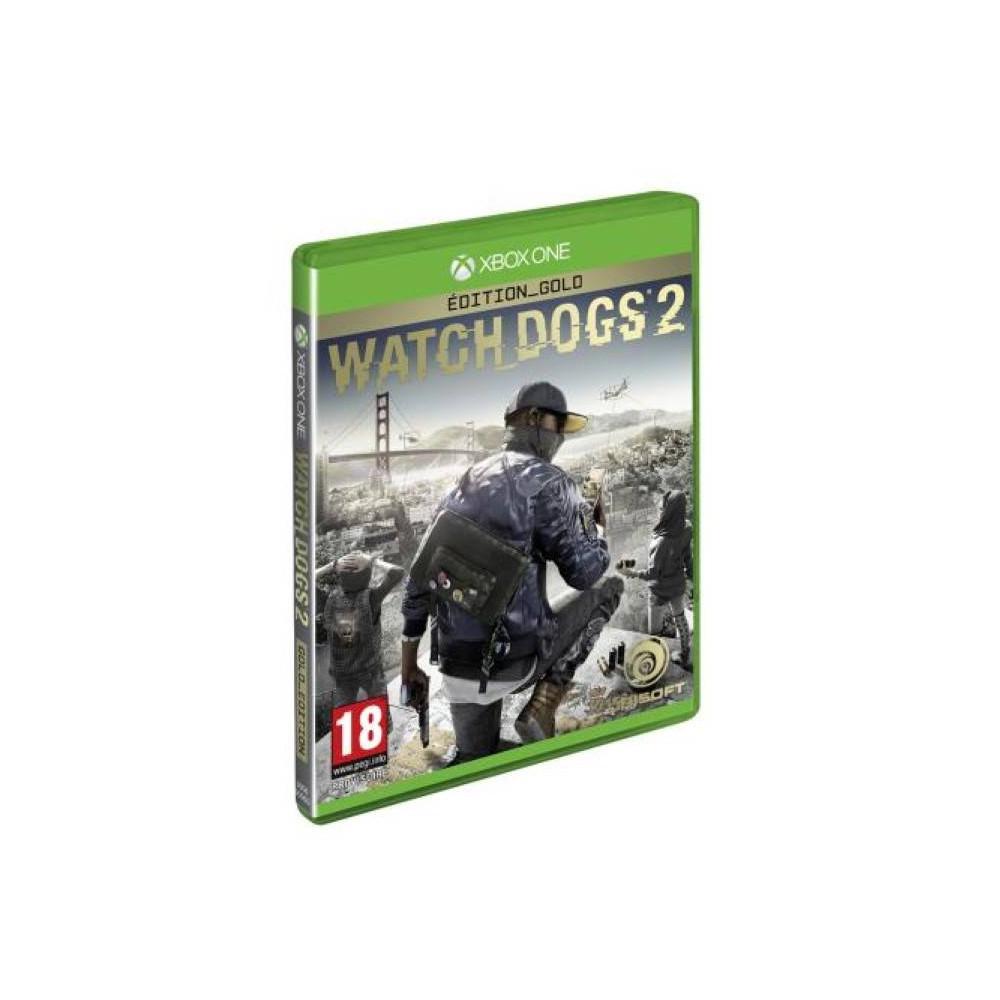 WATCH DOGS 2 GOLD XONE PAL-FR NEUF (PRECOMMANDE)