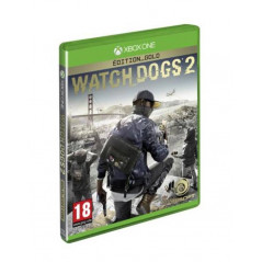 WATCH DOGS 2 GOLD XONE PAL-FR NEUF (PRECOMMANDE)