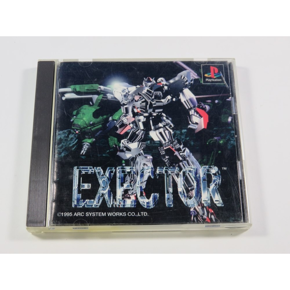 EXECTOR PLAYSTATION (PS1) NTSC-JPN (COMPLETE - GOOD CONDITION)