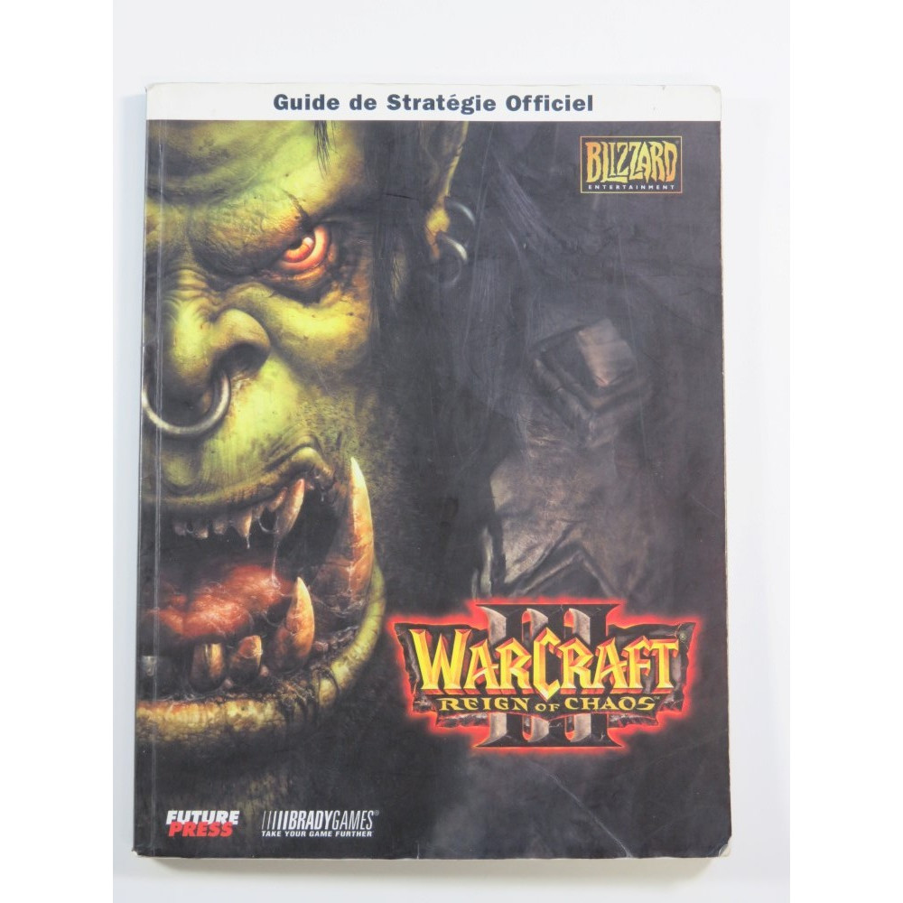 GUIDE WARCRAFT III REIGN OF CHAOS (PC) OCCASION