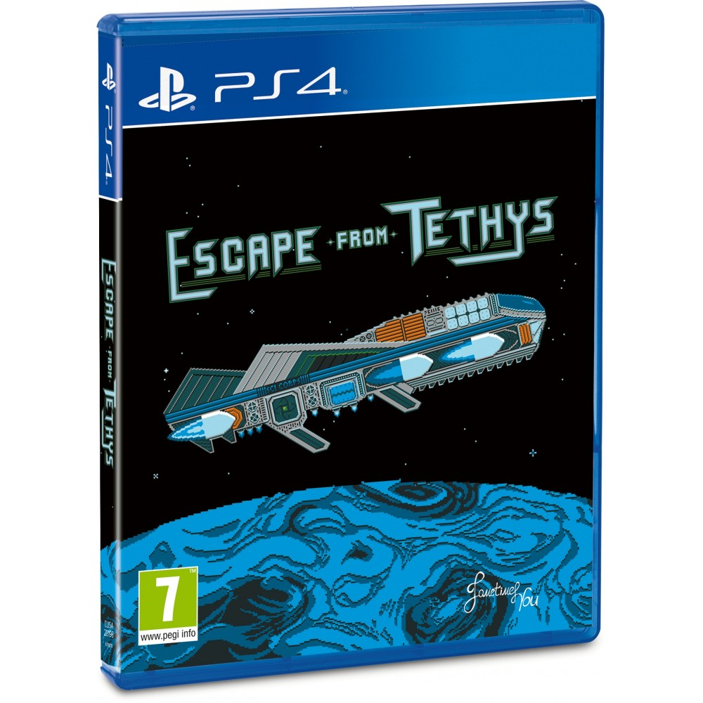 ESCAPE FROM TETHYS PS4 FR NEW(RED ART GAMES)