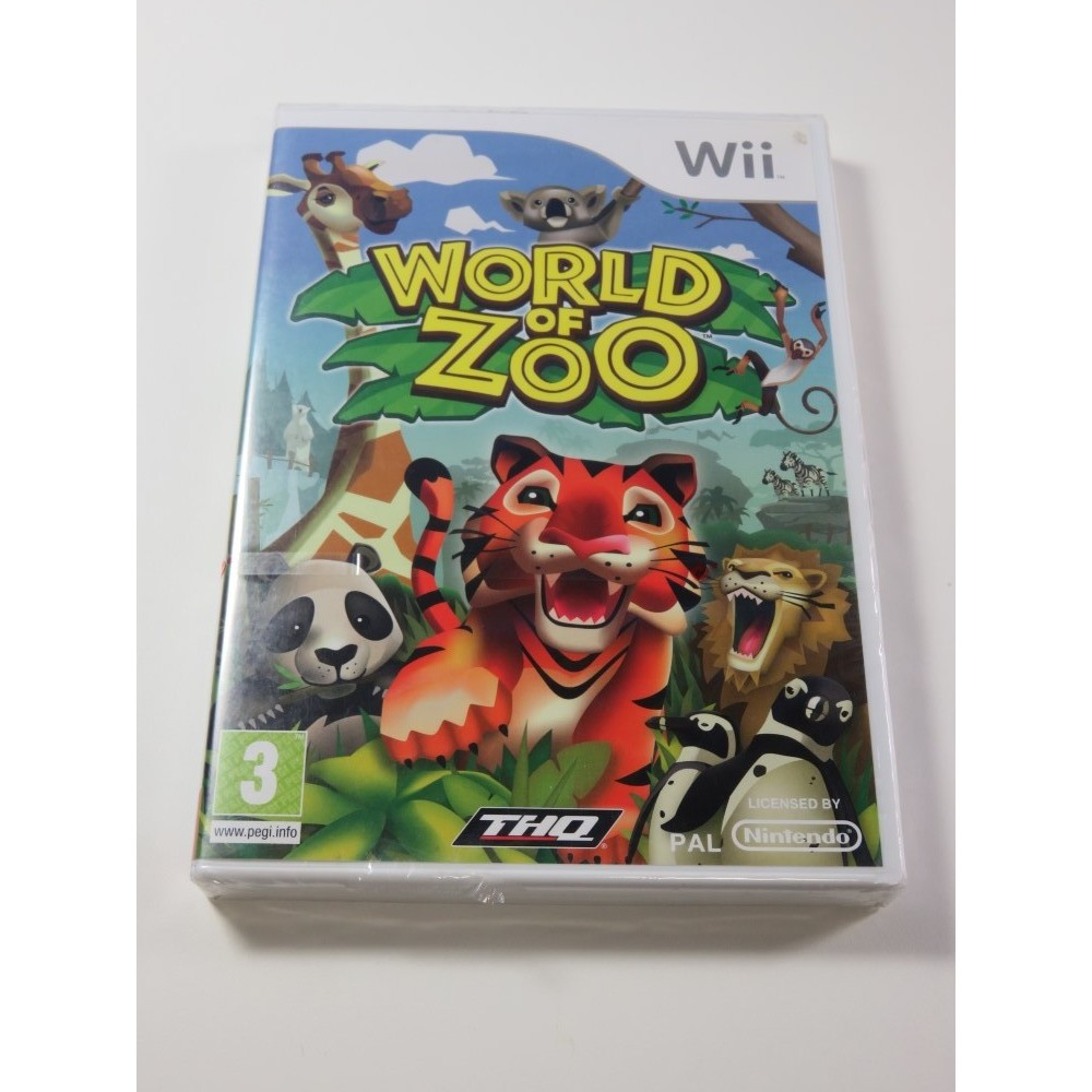 WORLD OF ZOO NINTENDO WII PAL-FR NEUF - BRAND NEW