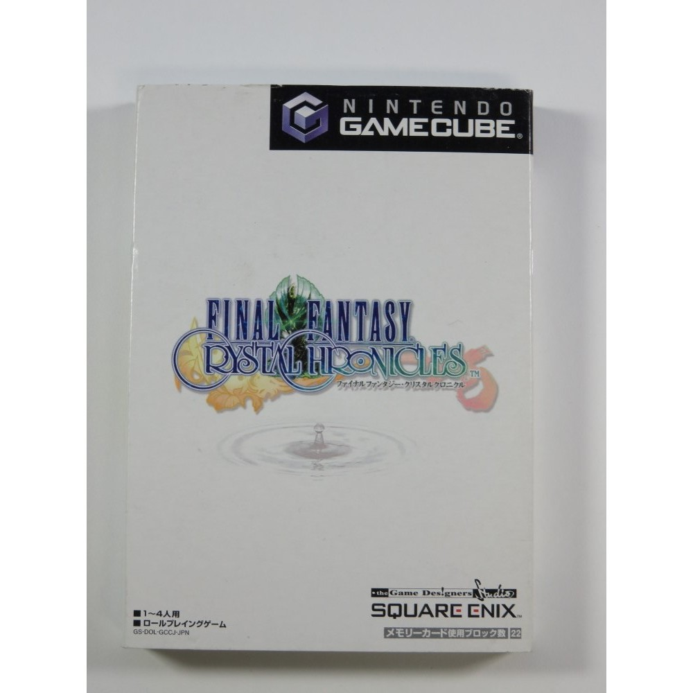 FINAL FANTASY CRYSTAL CHRONICLES GAMECUBE NTSC-JPN OCCASION